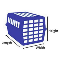 Travel crate measurements
