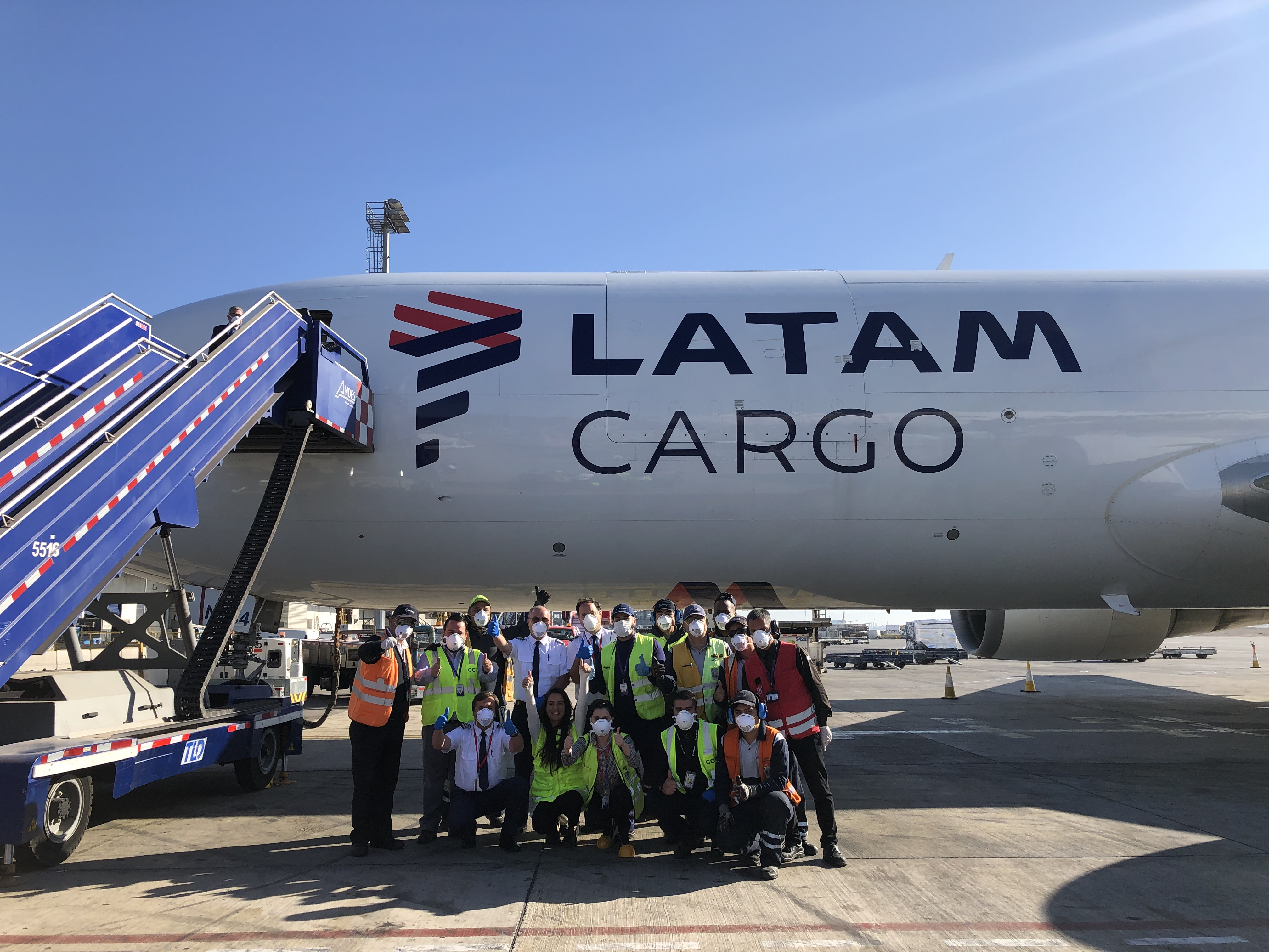LATAM Solidary Plane: Transport of stem cells in times of COVID-19