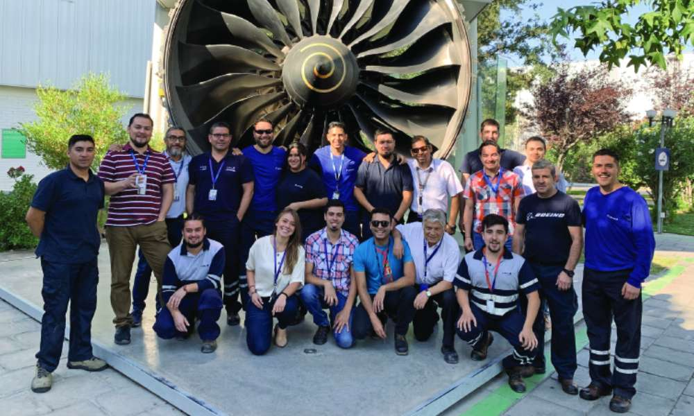 At LATAM, the Engines and APU Workshop is Headed by a Woman