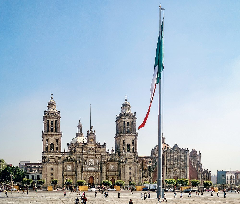 Essential places in Mexico City