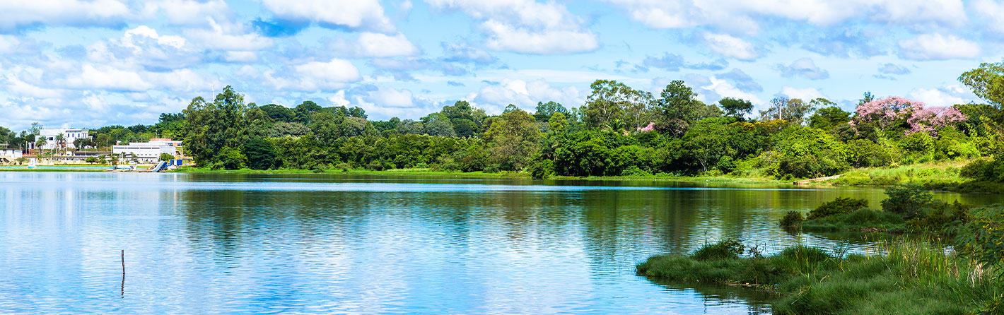 Paranoá Lake is Brasília's answer to a beach