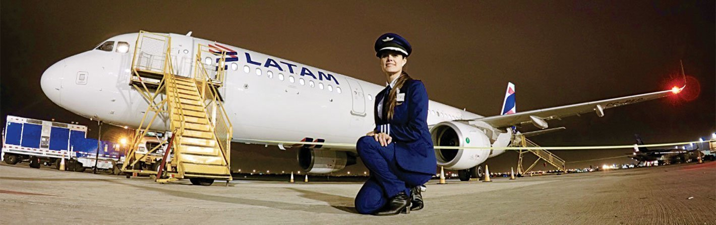 The story of a flight attendant who became a pilot